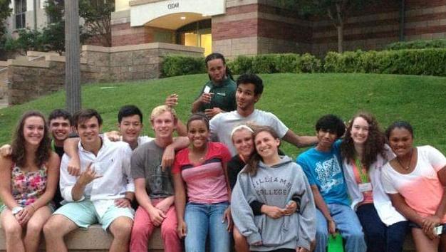 SuperCamp students